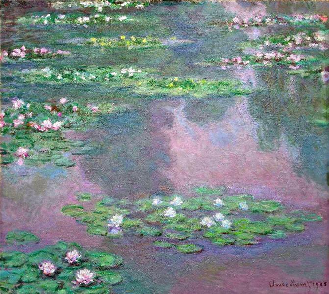 Water Lilies, 1905 - Claude Monet