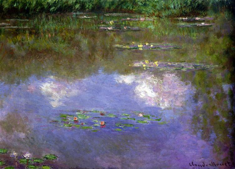 Water Lilies, The Clouds, 1903 - Claude Monet