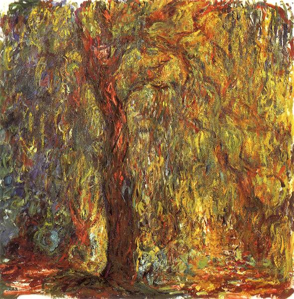 Weeping Willow, 1918 - 1919 - Клод Моне