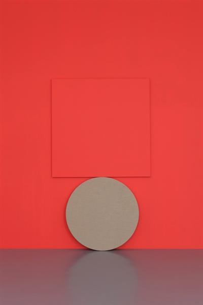 dé-finition/méthode #500: peinture en équilibre - Claude Rutault