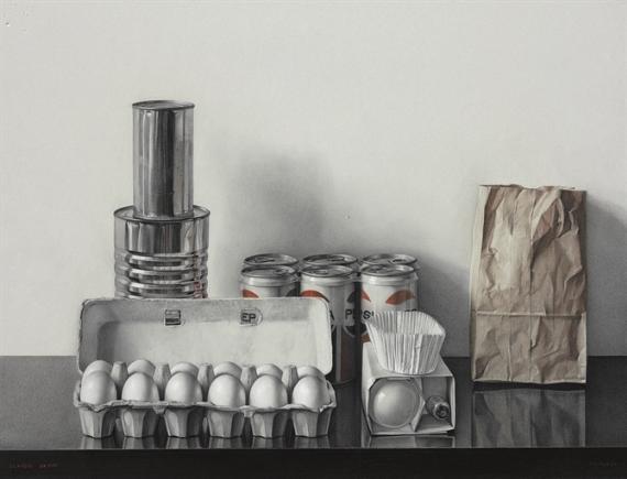 Return from the supermarket, 1971 - Claudio Bravo