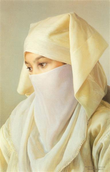 The veil, 1987 - Claudio Bravo