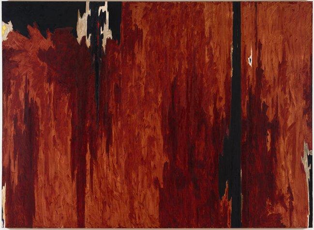 Untitled, 1951 - 1952 - Clyfford Still