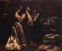 Um Concerto de Amadores - Columbano Bordalo Pinheiro