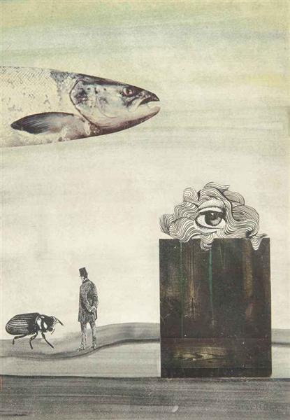 Untitled, 1969 - Conroy Maddox
