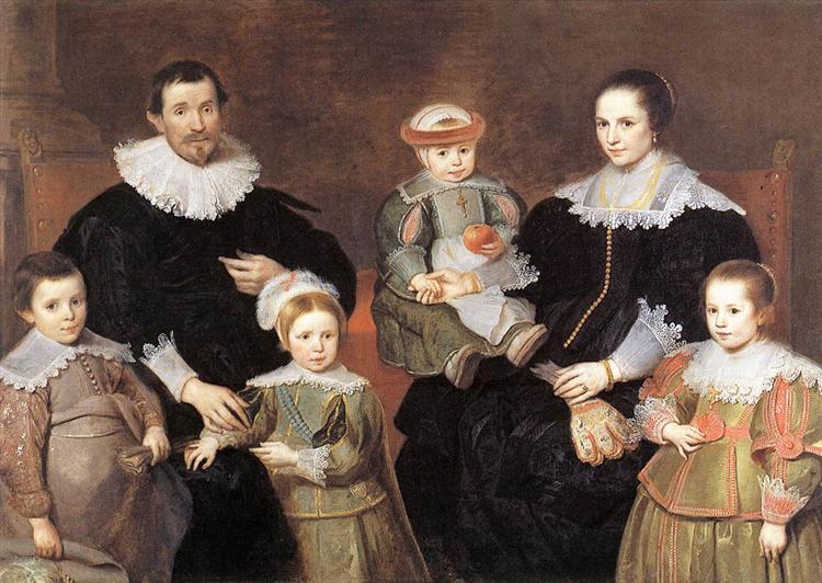 The Family of the Artist, 1630 - 1635 - Cornelis de Vos