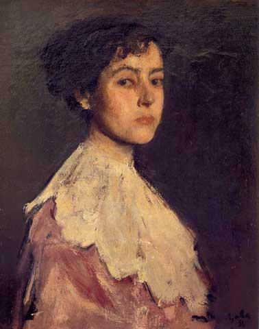Portrait of a Woman (Elena Hascke) - Corneliu Baba