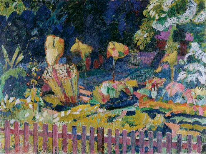 Bauerngarten, 1918