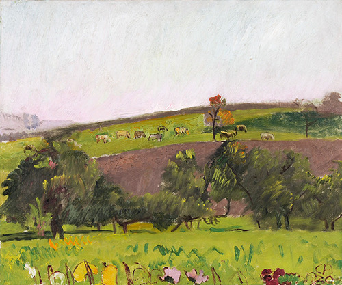 Emmental landscape with grazing animals, 1930