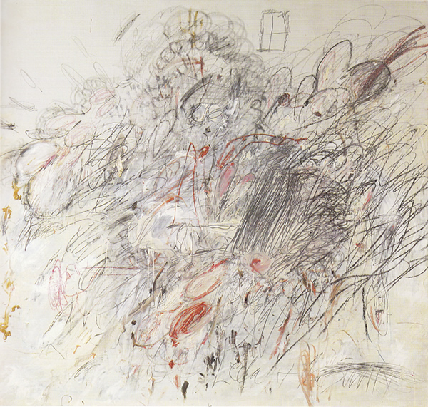 Leda and the Swan - Cy Twombly