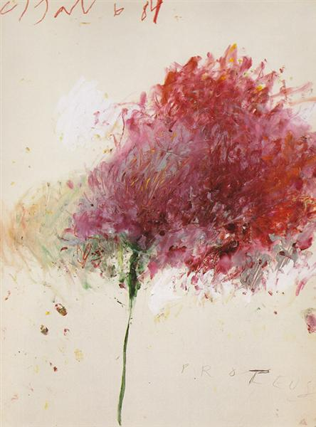 Proteus, 1984 - Cy Twombly