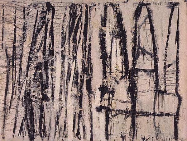 Quarzeat, 1953 - Cy Twombly