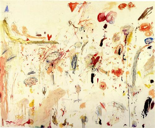 Frank Zweegers - Cy twombly