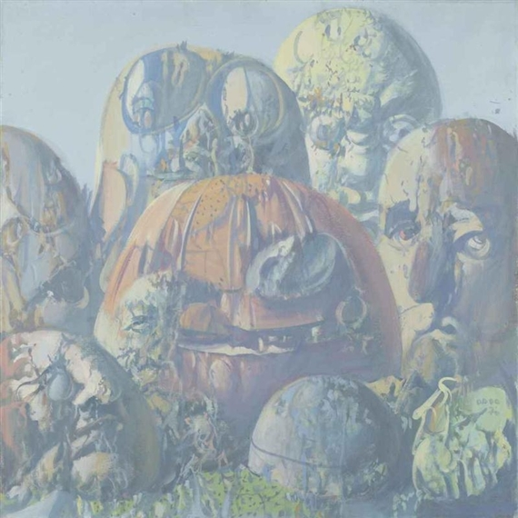 La galerie des ancêtres VII, 1970 - Dado