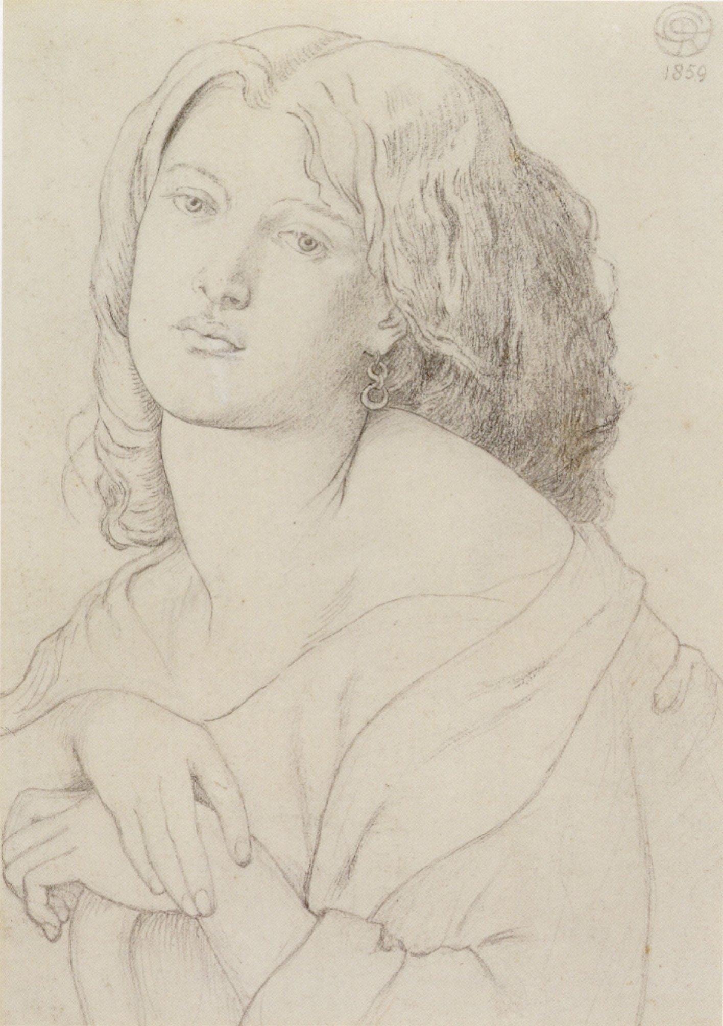 Portrait of Fanny Cornforth, 1869