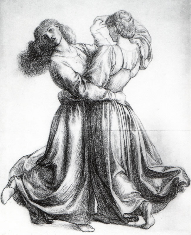The Bower Meadow Study (Study of Dancing Girls), 1872