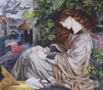 The Pia of Tolomei - Dante Gabriel Rossetti