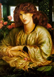 The Women's Window - Dante Gabriel Rossetti