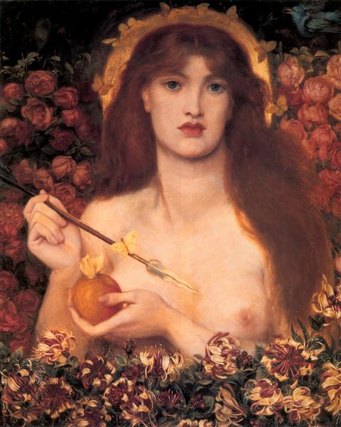 Venus Verticordia - Rossetti Dante Gabriel