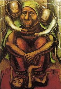 David Alfaro Siqueiros - 71 paintings, drawings and designs ...