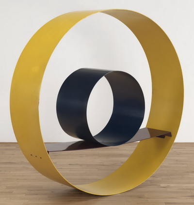 Big Yellow Circle, 1966 - David Annesley