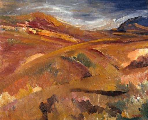 Tregor and Tregoff, Cornwall, 1947 - David Bomberg