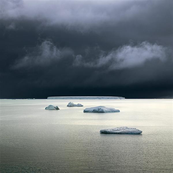 Five Icebergs (Wedell Sea, Antarctica), 2007 - David Burdeny