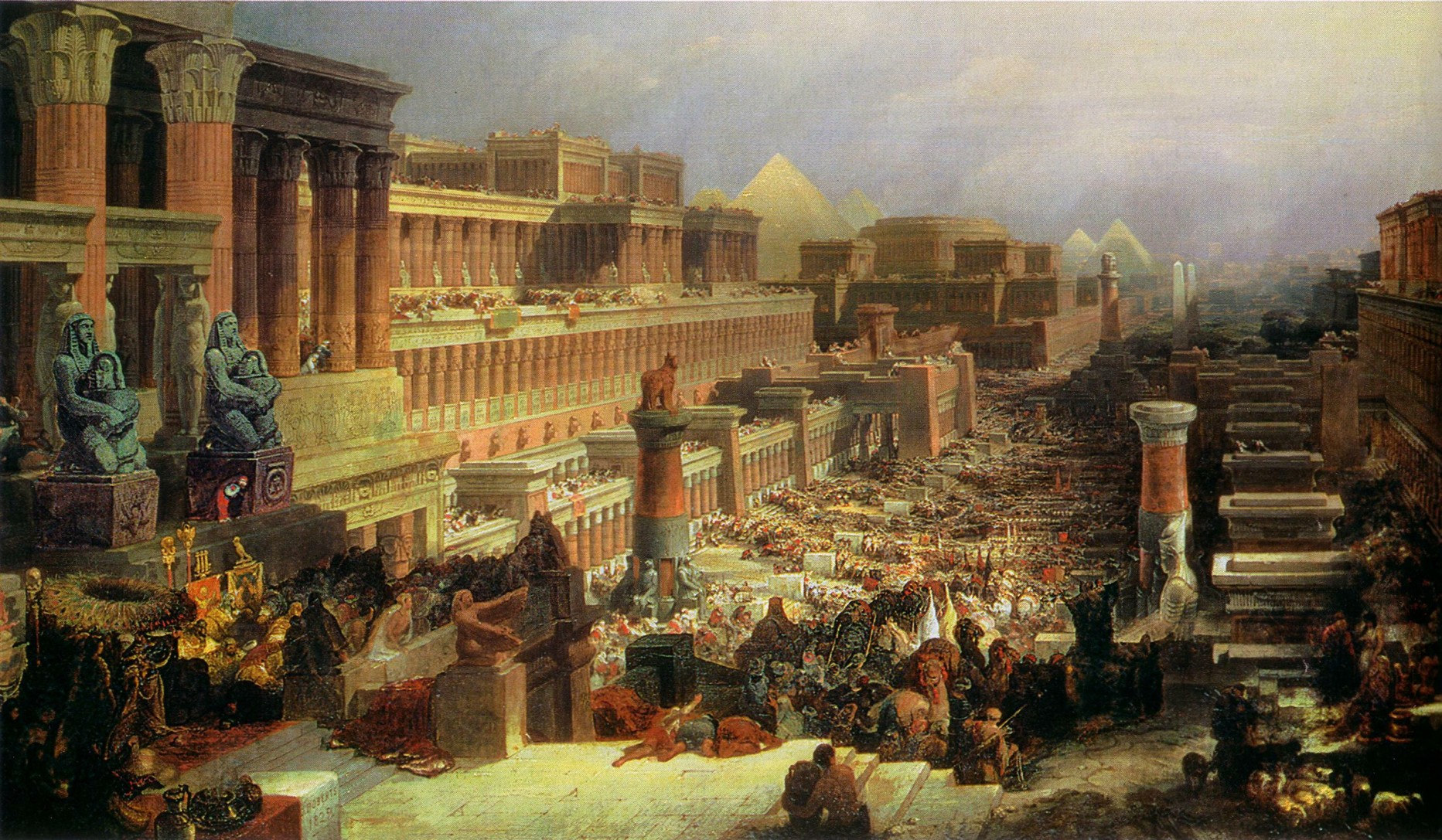 Departure of the Israelites, 1830