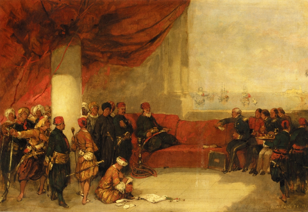 Interview with the Viceroy of Egypt at His Palace in Alexandria, 1849