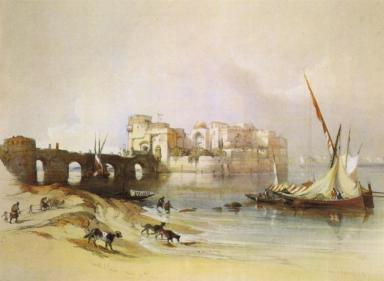 View of Sidon - David Roberts