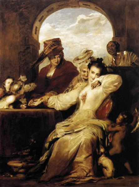Josephine and the Fortune Teller, 1837 - David Wilkie