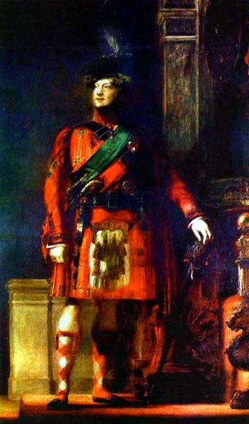 King George IV - David Wilkie