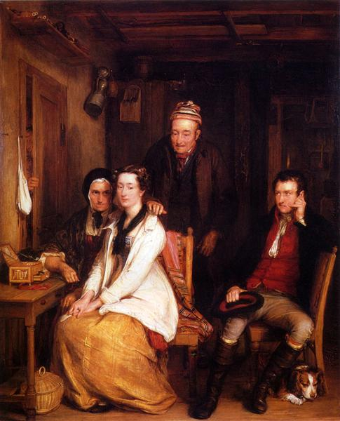 "The Refusal from Burn's ""Duncan"" - David Wilkie"