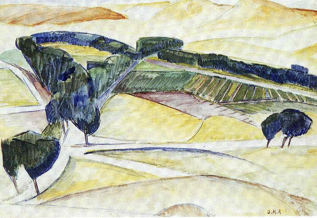 Landscape at Toledo, 1913