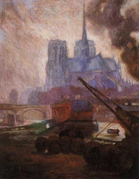 Notre Dame de Paris, 1909