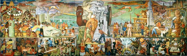 Pan American Unity, 1940 - Diego Rivera