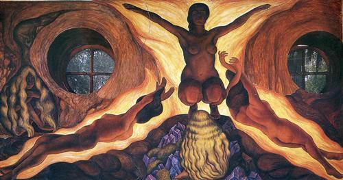 Subterranean Forces - Diego Rivera