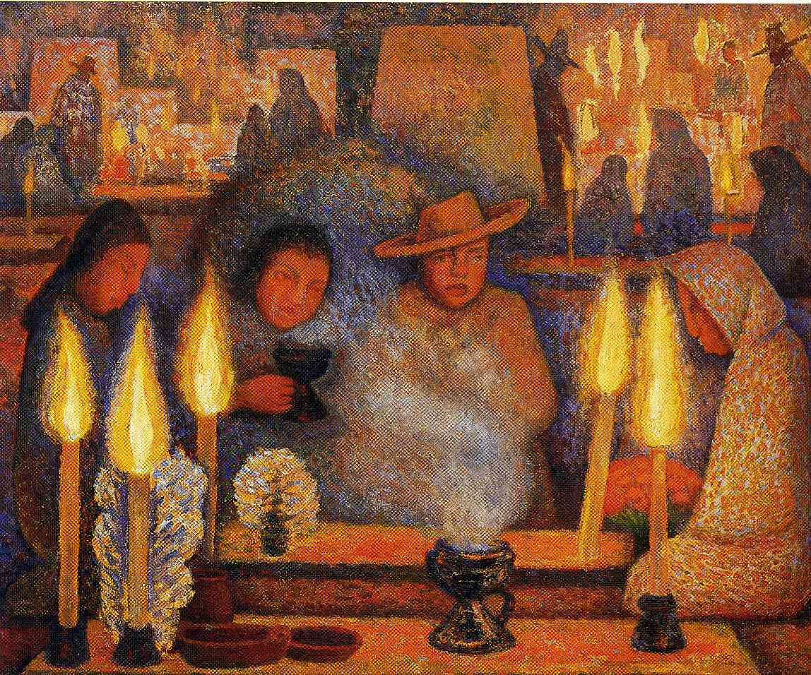 The day of the dead 1944 diego rivera for Diego rivera day of the dead mural