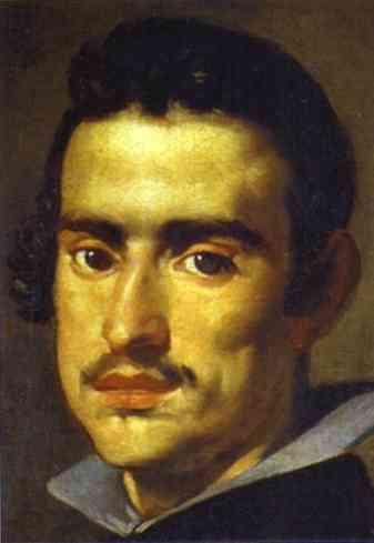 A young Man(Self-Portrait), 1623 - 1624 - Diego Velazquez ...  Velazquez Self Portrait