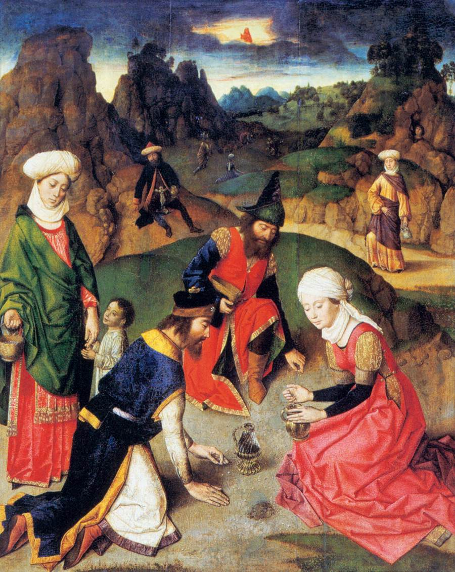 The Gathering of the Manna, 1465