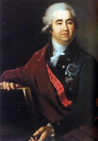 Alexander Bezborodko - Dmitry Levitzky