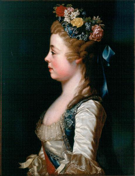 Grand Duchess Alexandra Pavlovna of Russia, 1791 - Dmitry Levitzky