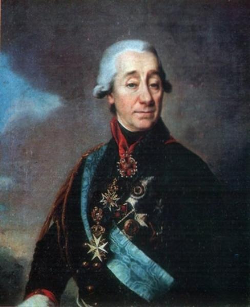 Lamb Ivan Varfolomeevich, 1799 - Dmitry Levitzky