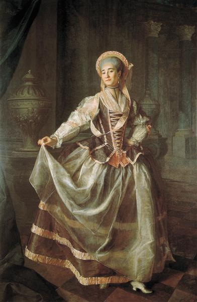 Portrait of A. P. Levshina, 1775 - Dmitry Levitzky