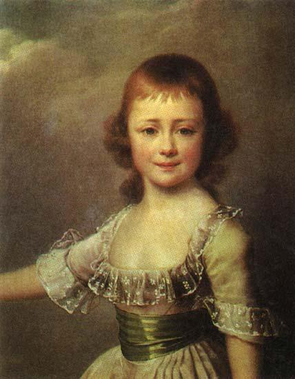 Portrait of Catherine Pavlovna, c.1795 - Dmitry Levitzky