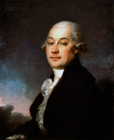 Portrait of Johann Hauffe, 1790 - Dmitri Levitski