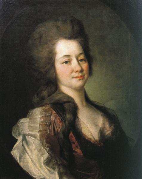 Portrait of Maria Alexeevna Lvova, 1781 - Dmitry Levitzky
