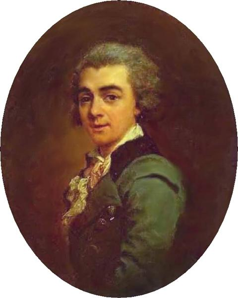 Portrait of Nikolay Lvov, 1774 - Dmitry Levitzky