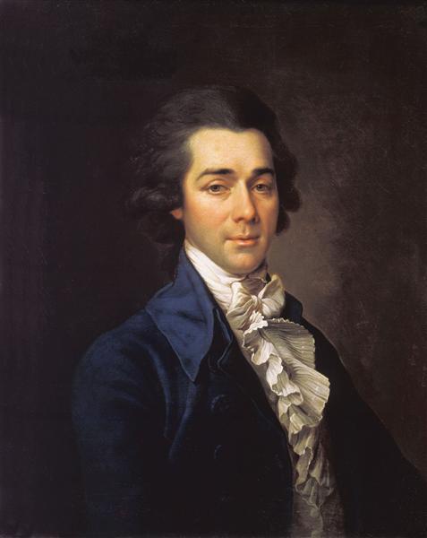 Portrait of Nikolay Lvov, 1789 - Dmitry Levitsky