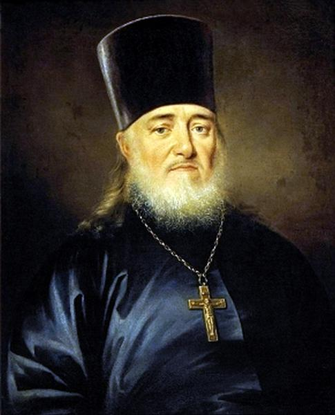 Portrait of priest, Peter Levitzky, 1812 - Dmitry Levitzky